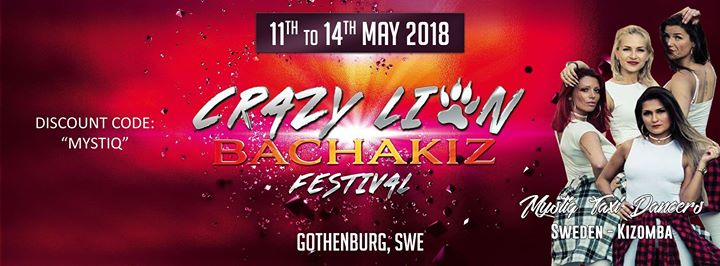 Mystiq Discount- Crazy Lion Bachakiz Festival 2nd edt at Gothenburg ... 32593a6d5cae7
