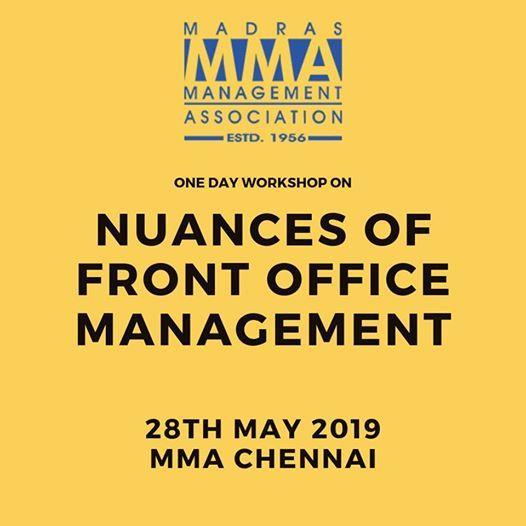Nuances of Front Office Management