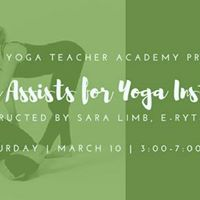Hands-On Assists for Yoga Instructors