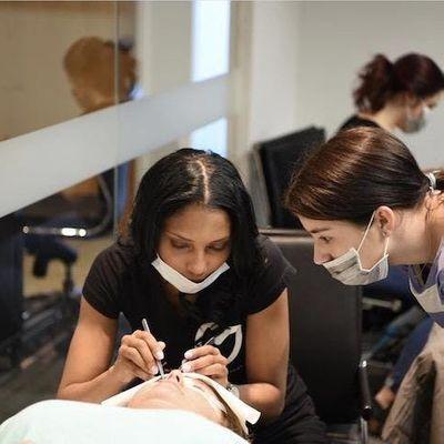 Best Hands- on Eyelash Extensions Microblading & Microshading Training Workshop