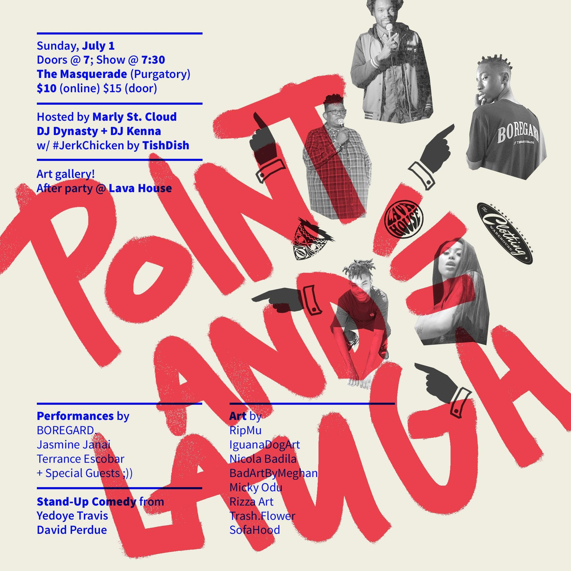 POINT AND LAUGH