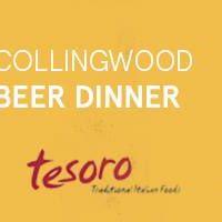 Collingwood Beer Dinner