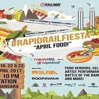 Rapid Rail Fiesta  April Food