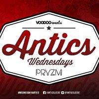 Antics Freshers  Wednesdays at Pryzm  20.9.17