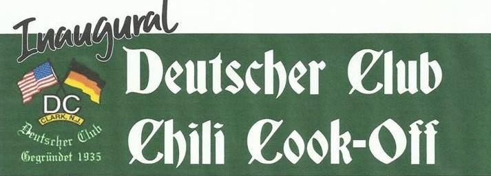 Inaugural Deutscher Club Chili Cookoff