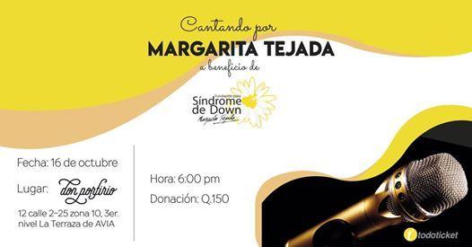 Cantando Por Margarita Tejada At Don Porfirio Guatemala