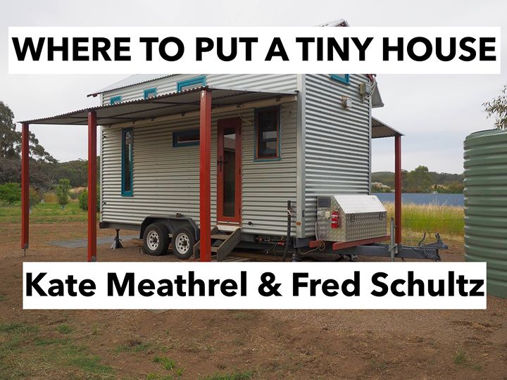 Where To Put A TIny House at Castlemaine Uniting Church Castlemaine