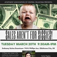 AACO Presents Sales Arent For Sissies w Katie Rigsby