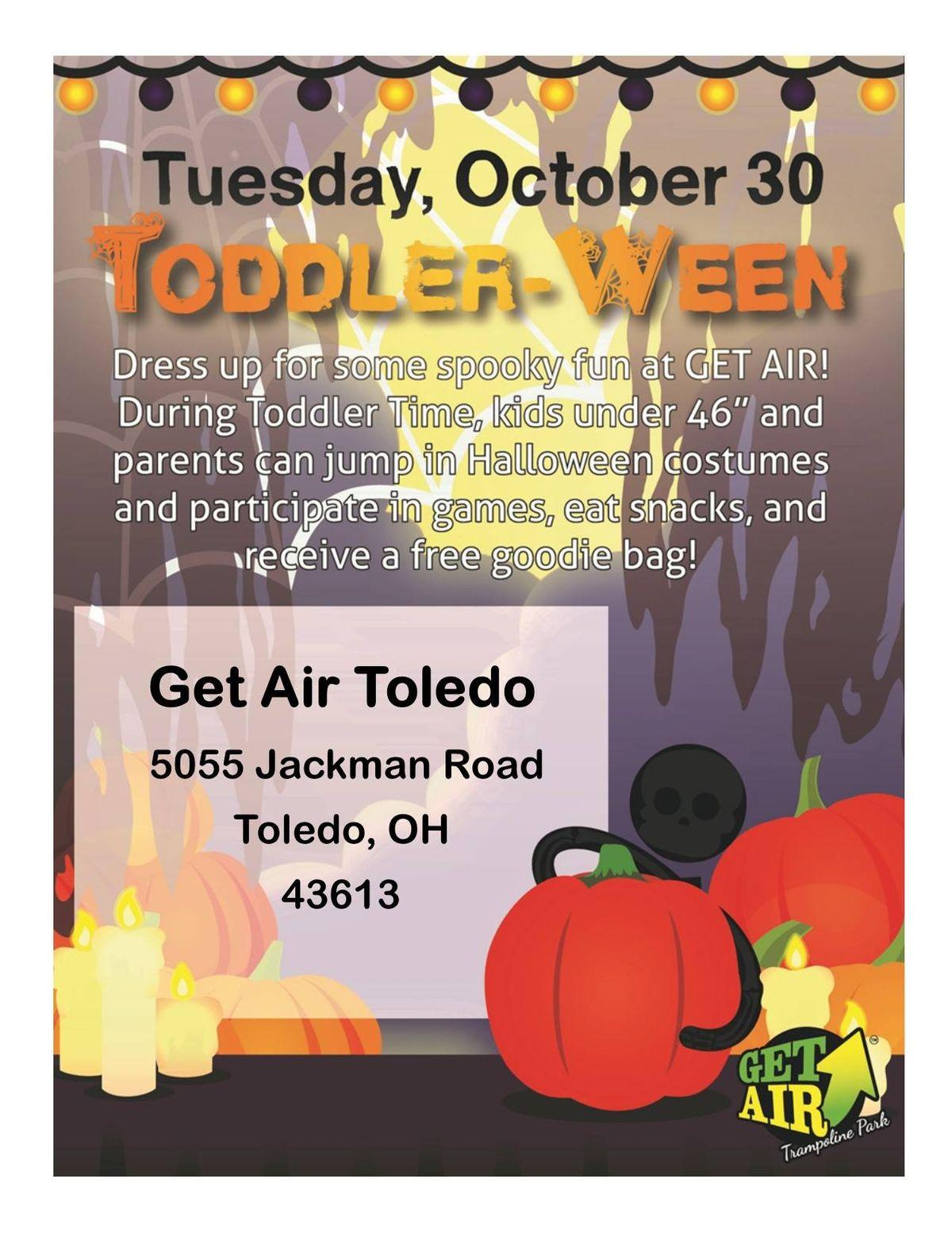 toddler-ween at get air toledo | ohio