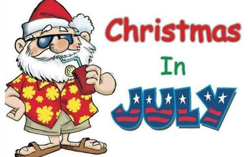 Sedona Elks Lodge Christmas in July