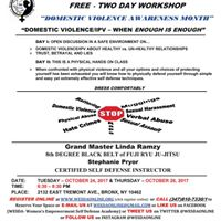 Free Domestic Violence Awareness Month Self Defense Workshop