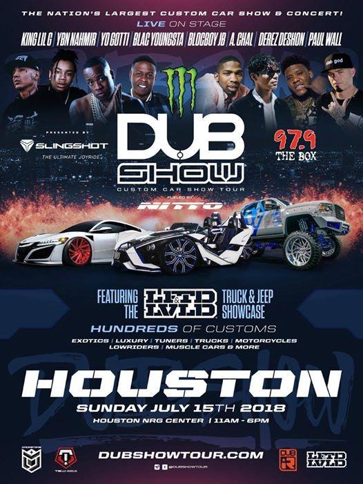 Dub Car Show At NRG Arena Nrg Park Houston Texas Houston - Dub car show houston