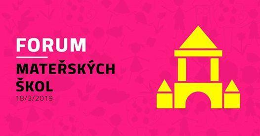 FORUM Mateskch kol  Praha  18. 3. 2019