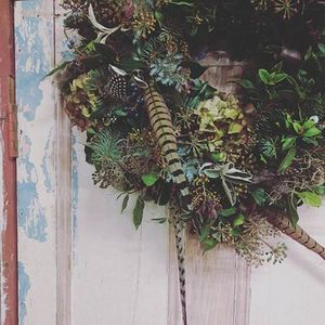 Christmas Wreath Making with The Wild Fox