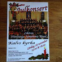 Julkonsert med Likren och Svenljunga Symphonic Band