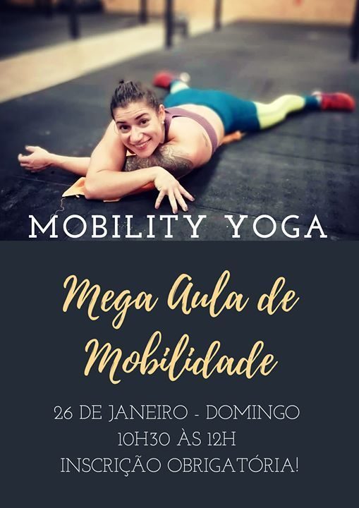 Mobility YOGA - Aula de Mobilidade By Ana Luisa Taboada