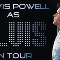 Travis Powell as Elvis on Tour 2017- (Macon)