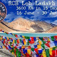 RCB Leh Ladakh Ride