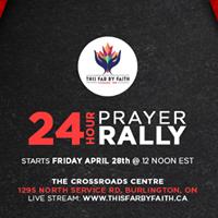 24 hour Prayer Rally