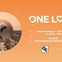 Onelove Easter Sunday 16th April
