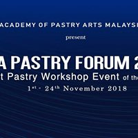 The Biggest Pastry Workshop Event &quotAsia Pastry Forum&quot