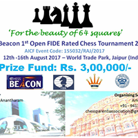Chess Beacon 1st Open FIDE Rated Chess Tournament 2017