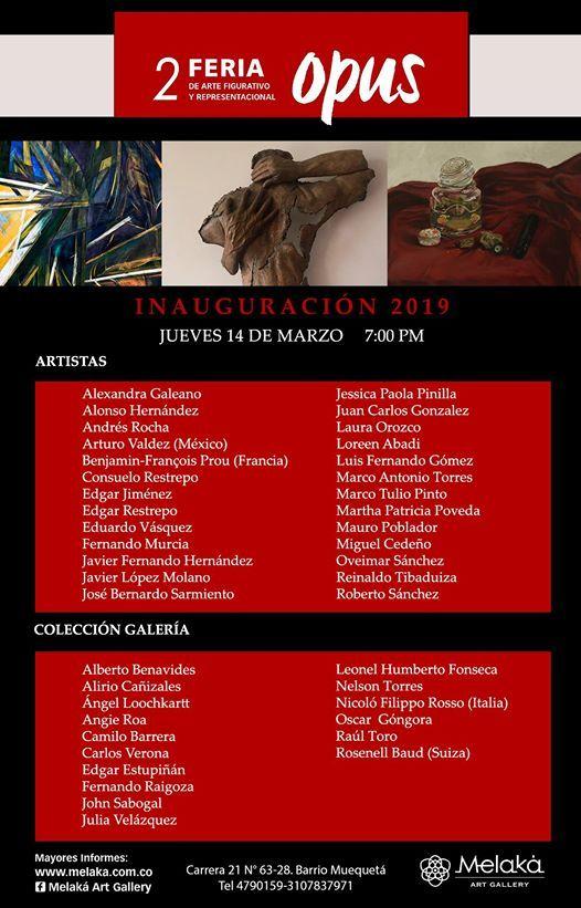 2 Feria de Arte figurativo y representacional Opus 2019