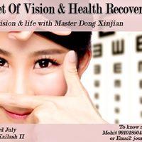 Vision Training Using Mingmu Method