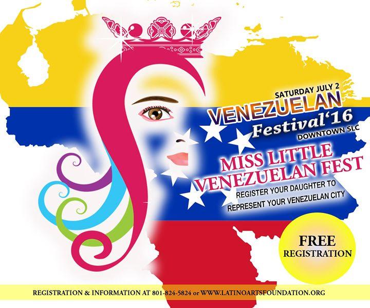 Miss little venezuelan fest 2016 at gateway mall salt for Rio grande arts and crafts festival 2016