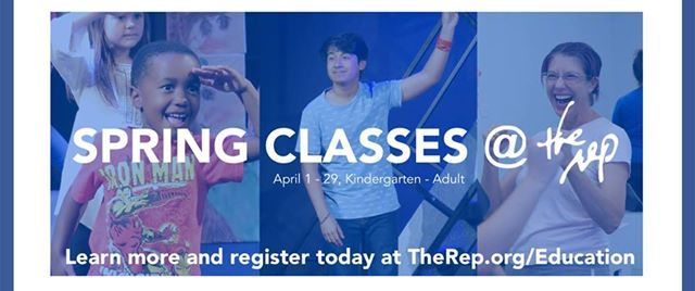 Spring Classes at The Rep