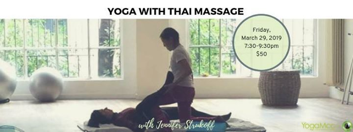 Yoga with Thai Massage