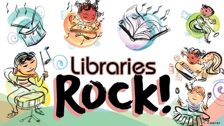 Image result for libraries rock images