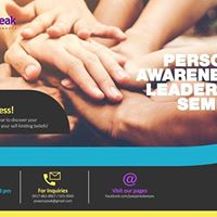 Free Seminar on Personal Awareness and Leadership