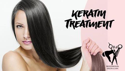 Keratin Treatment Day