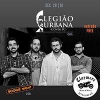 Legio Urbana Cover No Claymore - entrada Free