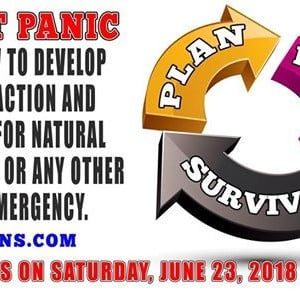 Dont Panic Plan prepare and Survive