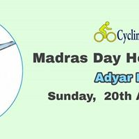 Madras Day Heritage Ride - Adyar River