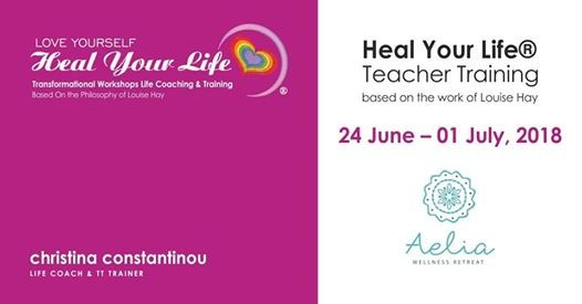 Heal Your Life Teacher Training based on the work of Louise Hay