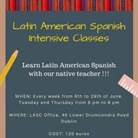 Latin American Spanish Intensive Classes for Beginners