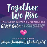 Khalid Latif in Orlando - MWO GEMS Gala 2017 Together We Rise