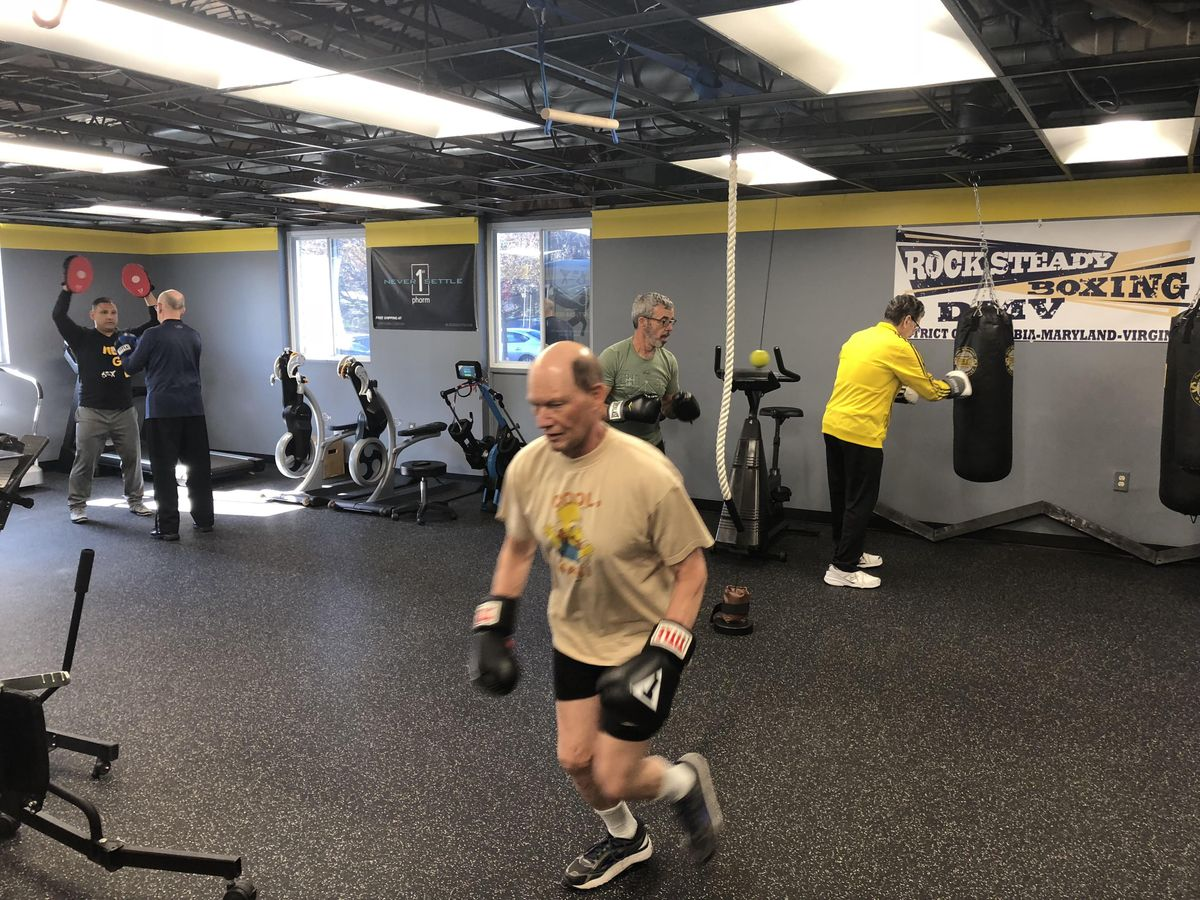 Wednesday-Rock Steady Boxing (For Parkinsons Clients) at DPI Adaptive Fitness (25)