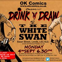 Drink &amp Draw 4th September 2017