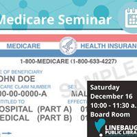 Medicare Seminar Linebaugh