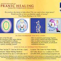MCKS Level 1 Basic Pranic Healing Class with Master Glenn