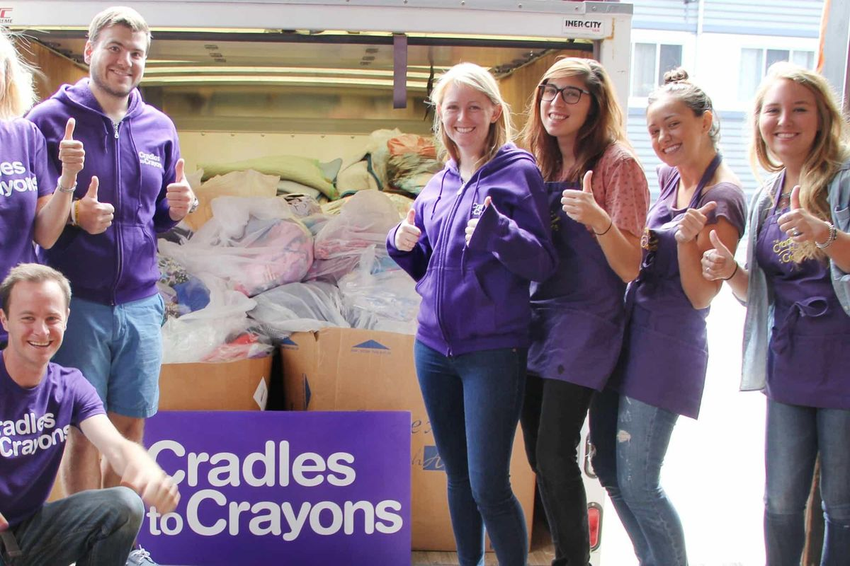 March Service Project - Cradles to Crayons