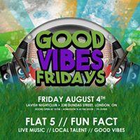 Good Vibes Fridays - Flat 5 &amp Fun Fact