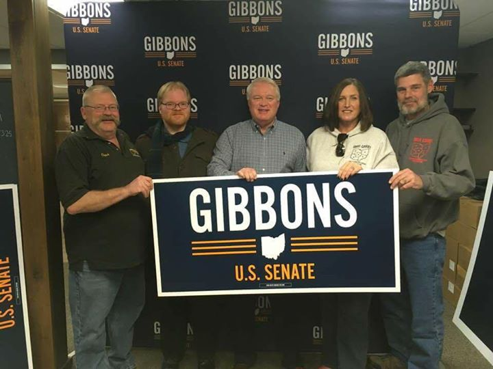 2A Friends Of Mike Gibbons Phone Bank Party-Yard Sign Pick Up