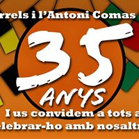 Festa 35 Anys AE Arrels i AE Antoni Comas