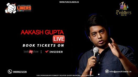 Punchliners Standup Comedy Show ft. Aakash Gupta in Amritsar
