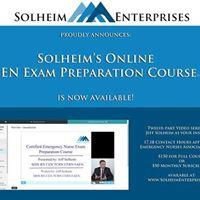 Solheims Certified Emergency Nurse Exam Preparation Course